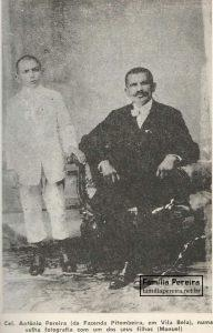 Coronel Antônio Pereira da Silva.