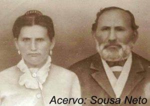 Manoel Pereira da Silva Jacobina (Padre Pereira) e sua esposa Francisca Pereira da Silva (Dona Chiquinha).