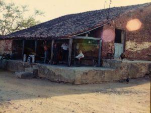Casa grande da fazenda Baixio em São José do Belmonte-PE